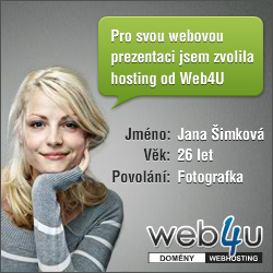 Web4U - domény, webhosting, servery